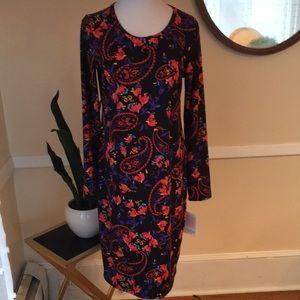 NWT LuLaRoe Debbie Sheath Dress in Medium. Beauty!
